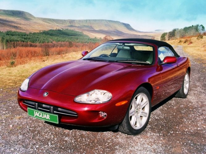 1996-02 Jaguar XK8 Convertible ew wallpaper