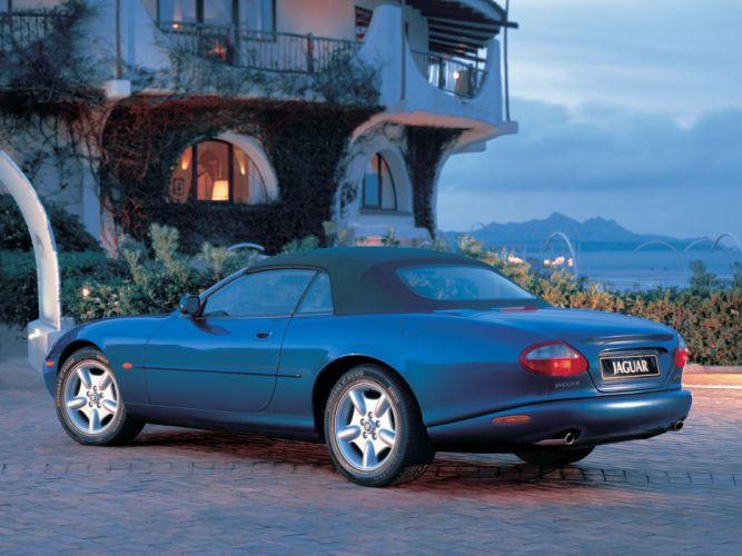 1996-02 Jaguar XK8 Convertible b wallpaper