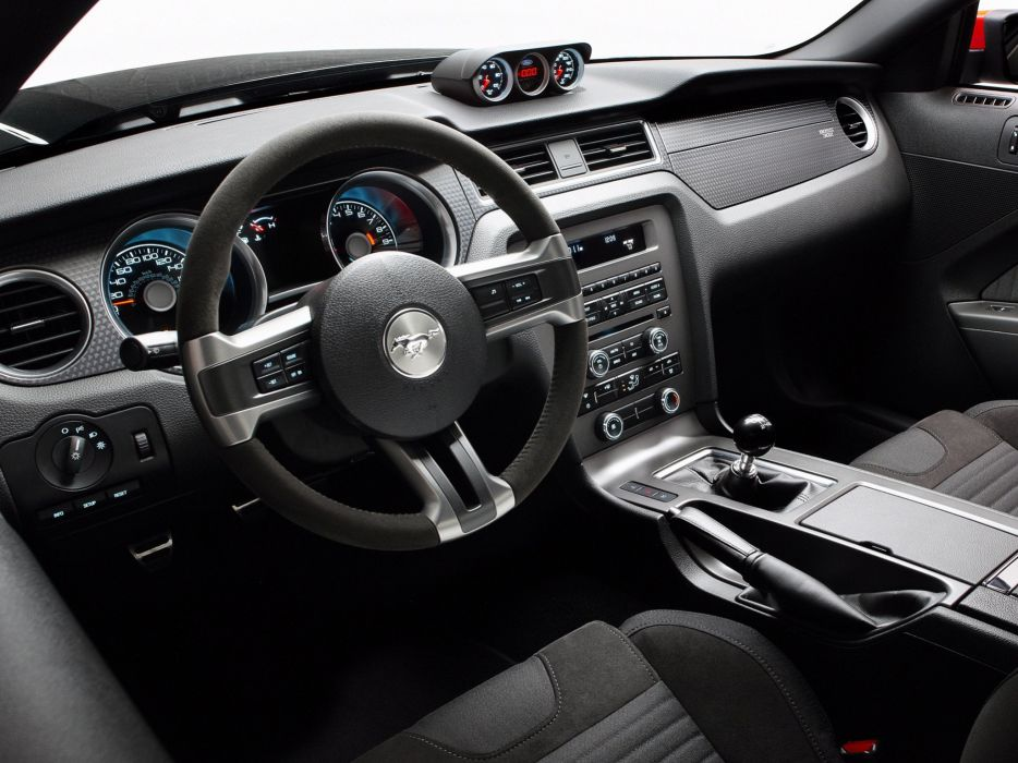 2010 Ford Mustang Boss 302 Laguna Seca muscle interior      h wallpaper