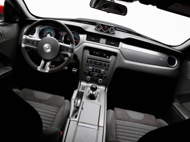 2010 Ford Mustang Boss 302 Laguna Seca muscle interior g wallpaper