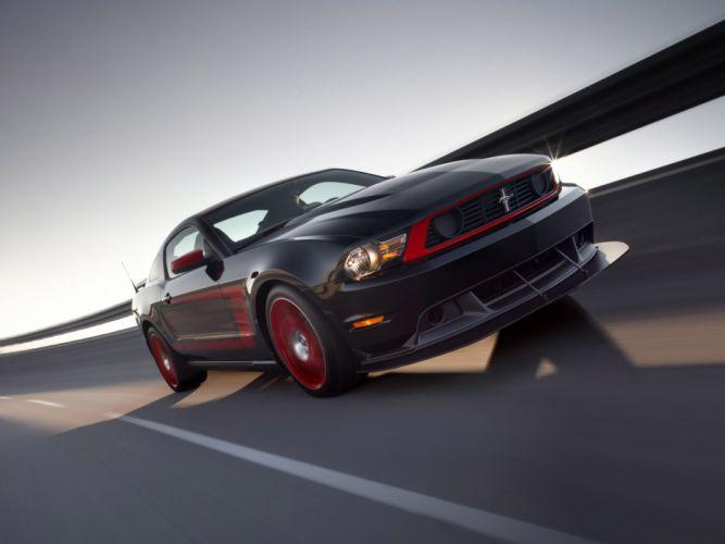 2010 Ford Mustang Boss 302 Laguna Seca muscle ej wallpaper