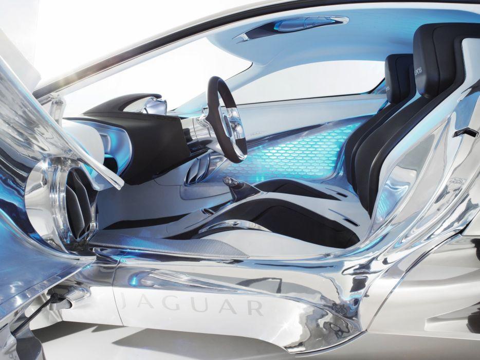 2010 Jaguar C-X75 Concept supercar interior    h wallpaper