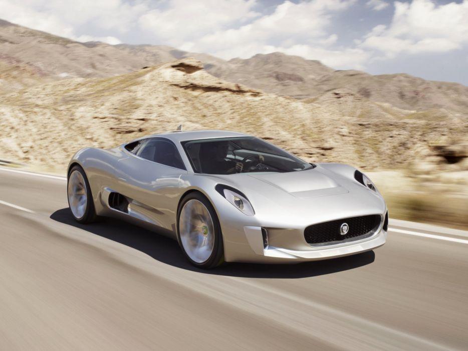 2010 Jaguar C-X75 Concept supercar  r wallpaper