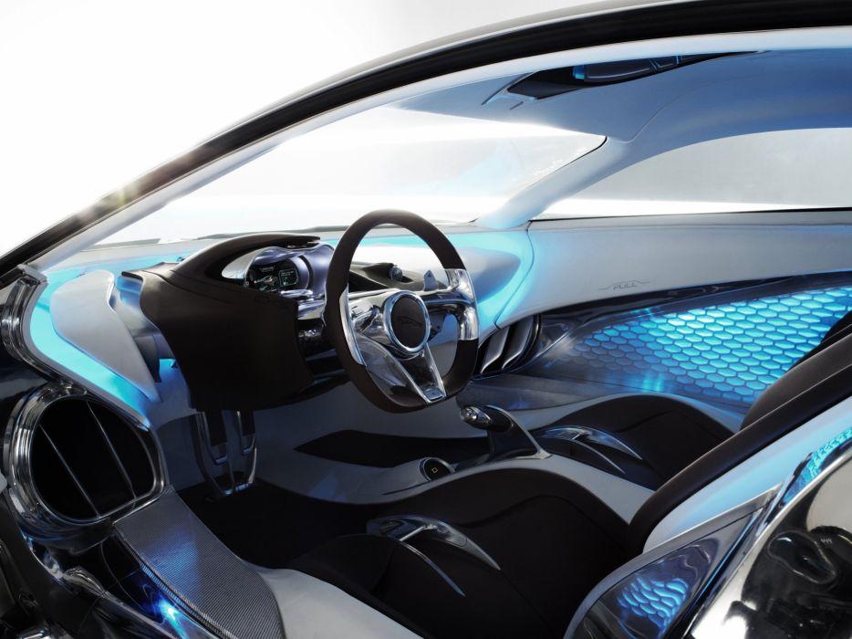 Jaguar cx75 interior
