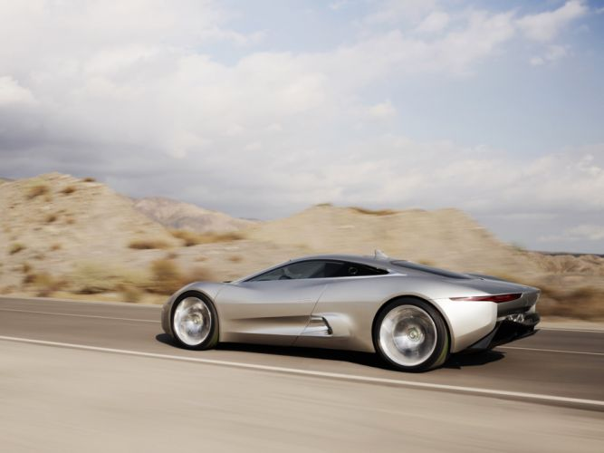 2010 Jaguar C-X75 Concept supercar f wallpaper