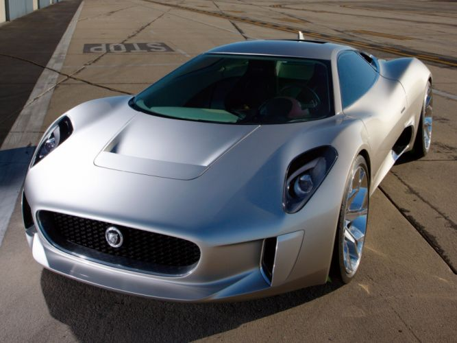 2010 Jaguar C-X75 Concept supercar h wallpaper