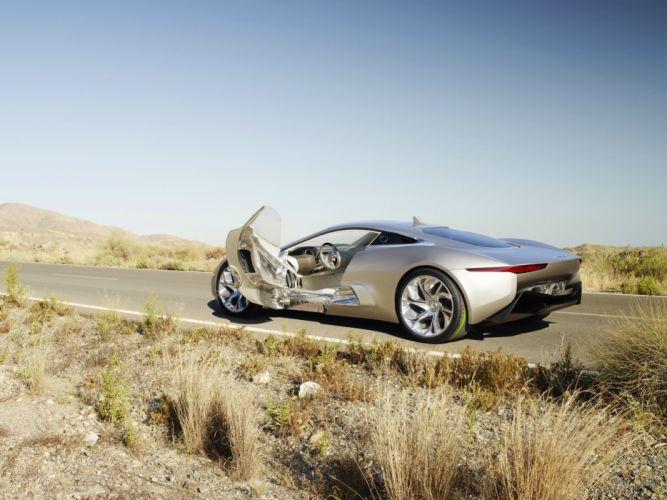 2010 Jaguar C-X75 Concept supercar interior g wallpaper