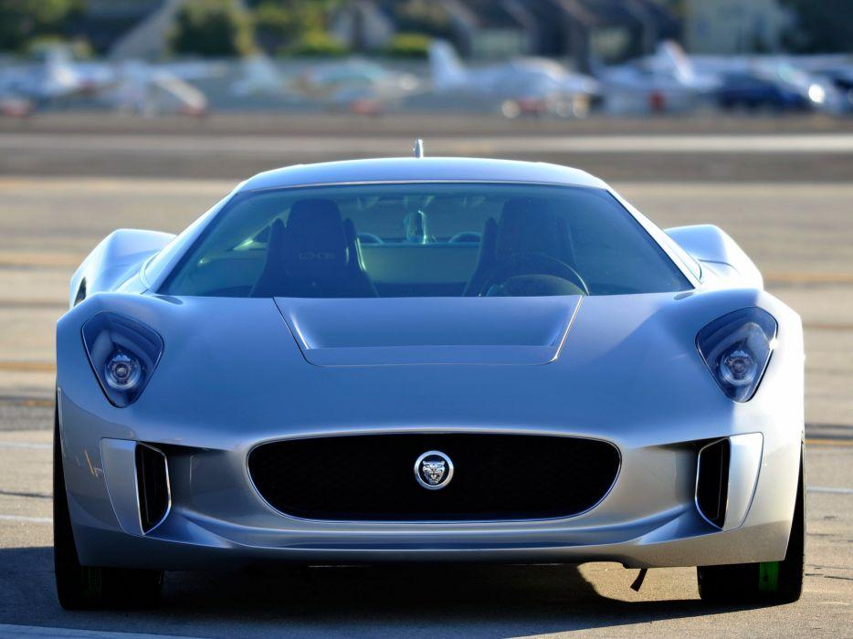 2010 Jaguar C-X75 Concept supercar   fd wallpaper