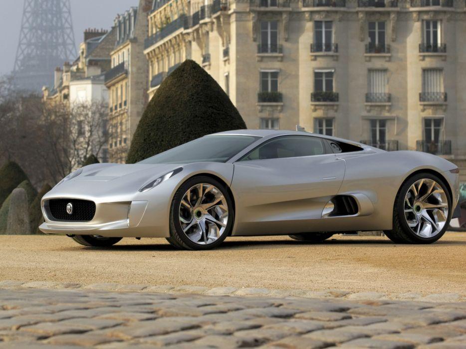 2010 Jaguar C-X75 Concept supercar   d wallpaper