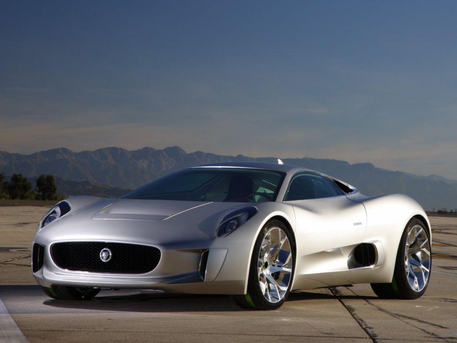 2010 Jaguar C X75 Concept Supercar H Wallpaper 2048x1536
