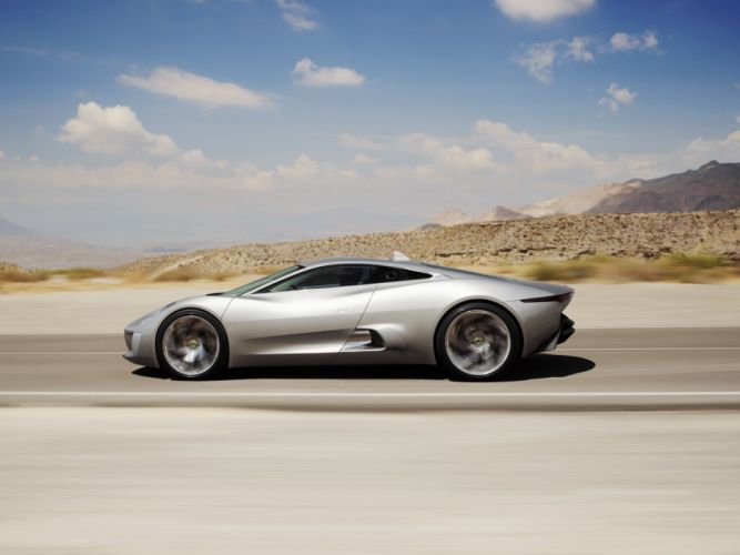 2010 Jaguar C-X75 Concept supercar g wallpaper