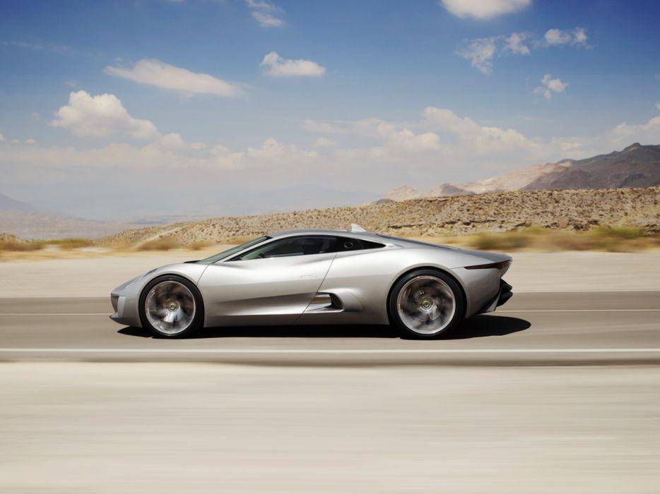 2010 Jaguar C-X75 Concept supercar   g wallpaper