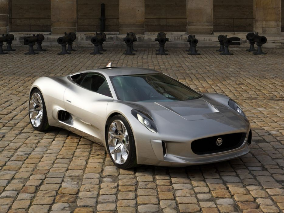 2010 Jaguar C X75 Concept Supercar F Wallpaper 2048x1536
