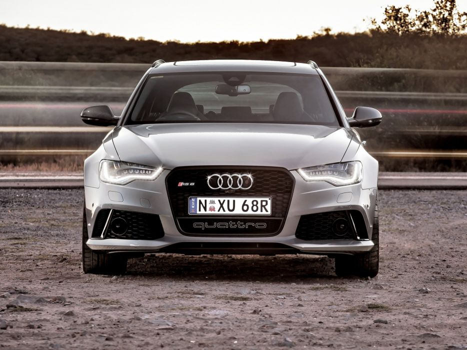 2013 Audi RS6 Avant AU-spec (4-G C-7) stationwagon b wallpaper