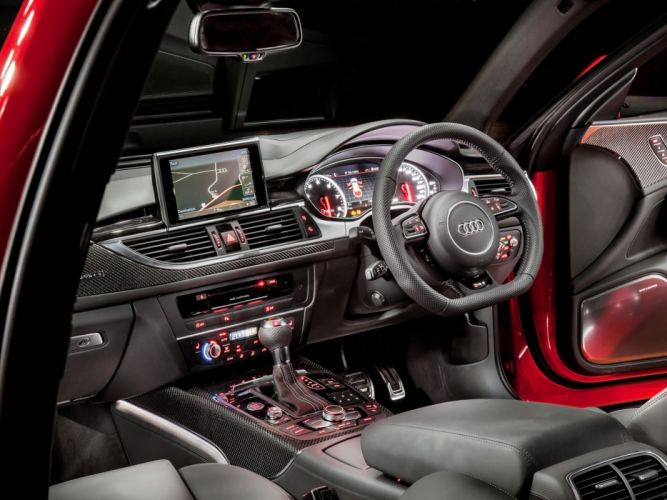 2013 Audi RS6 Avant AU-spec (4-G C-7) stationwagon interior f wallpaper