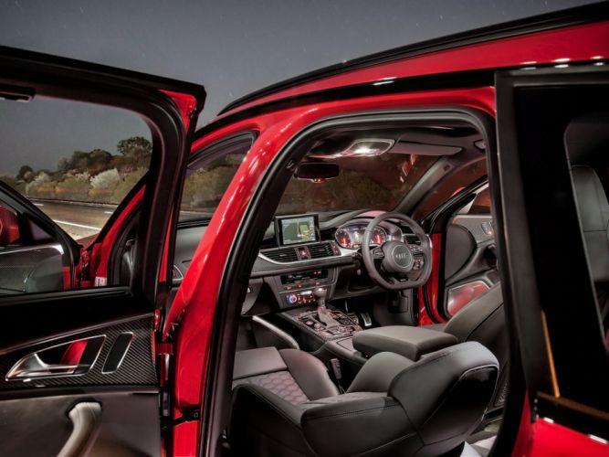 2013 Audi RS6 Avant AU-spec (4-G C-7) stationwagon interior g wallpaper