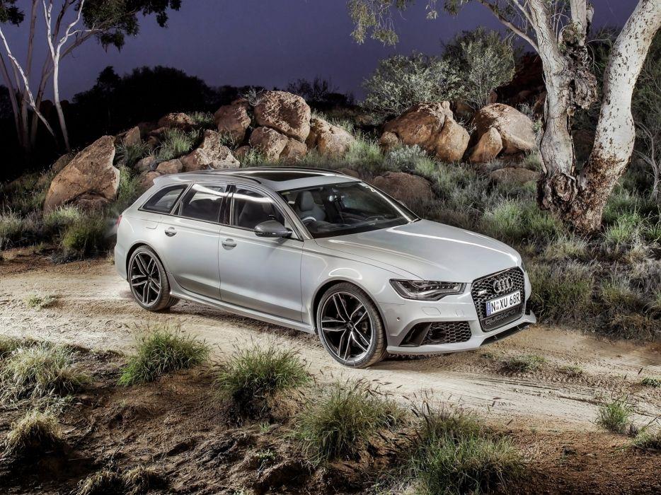 2013 Audi RS6 Avant AU-spec (4-G C-7) stationwagon    f wallpaper