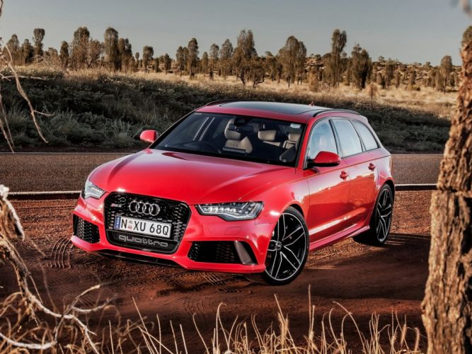 2013 Audi RS6 Avant AU-spec (4-G C-7) stationwagon f wallpaper