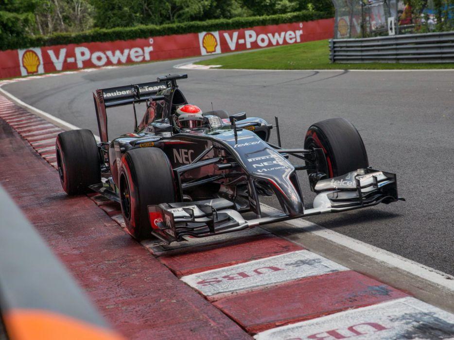 2014 Sauber C33 formula f-1 race racing      f wallpaper