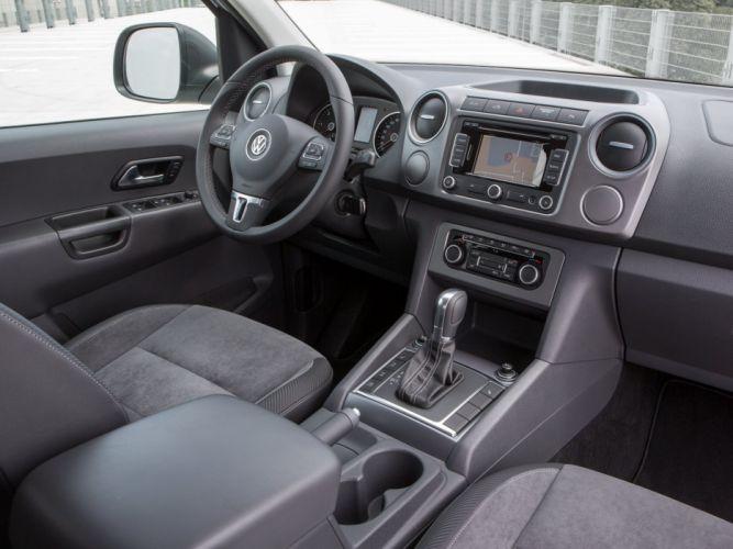 2014 Volkswagen Amarok Dark Label suv awd pickup interior f wallpaper