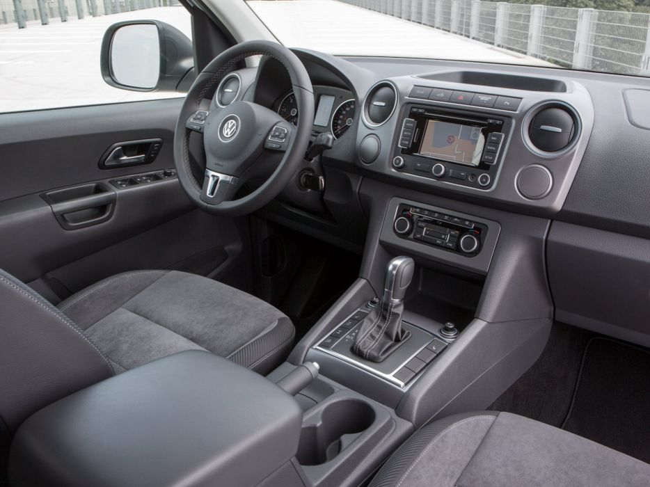 2014 volkswagen amarok dark label suv awd pickup interior