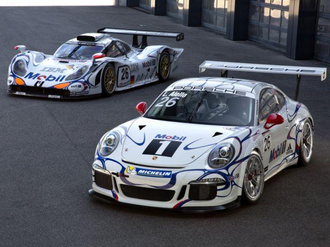Porsche 911 GT1 Evo race racing d wallpaper