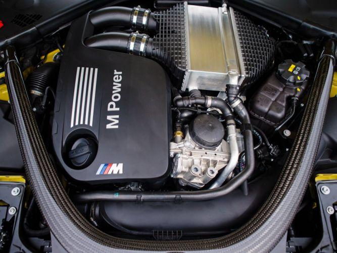 2015 BMW M-4 Coupe US-spec (F82) engine f wallpaper
