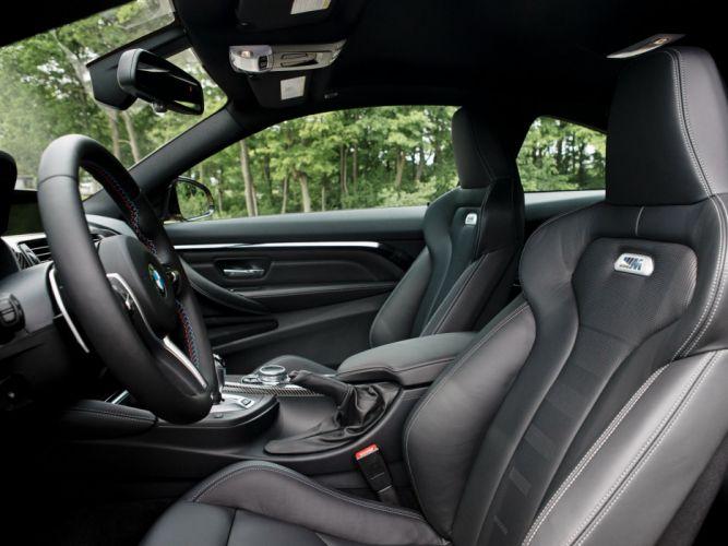 2015 BMW M-4 Coupe US-spec (F82) interior f wallpaper