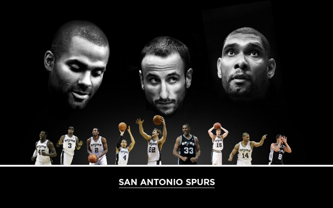 SAN ANTONIO SPURS basketball nba (25) wallpaper
