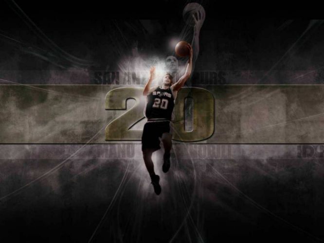 SAN ANTONIO SPURS basketball nba (24) wallpaper