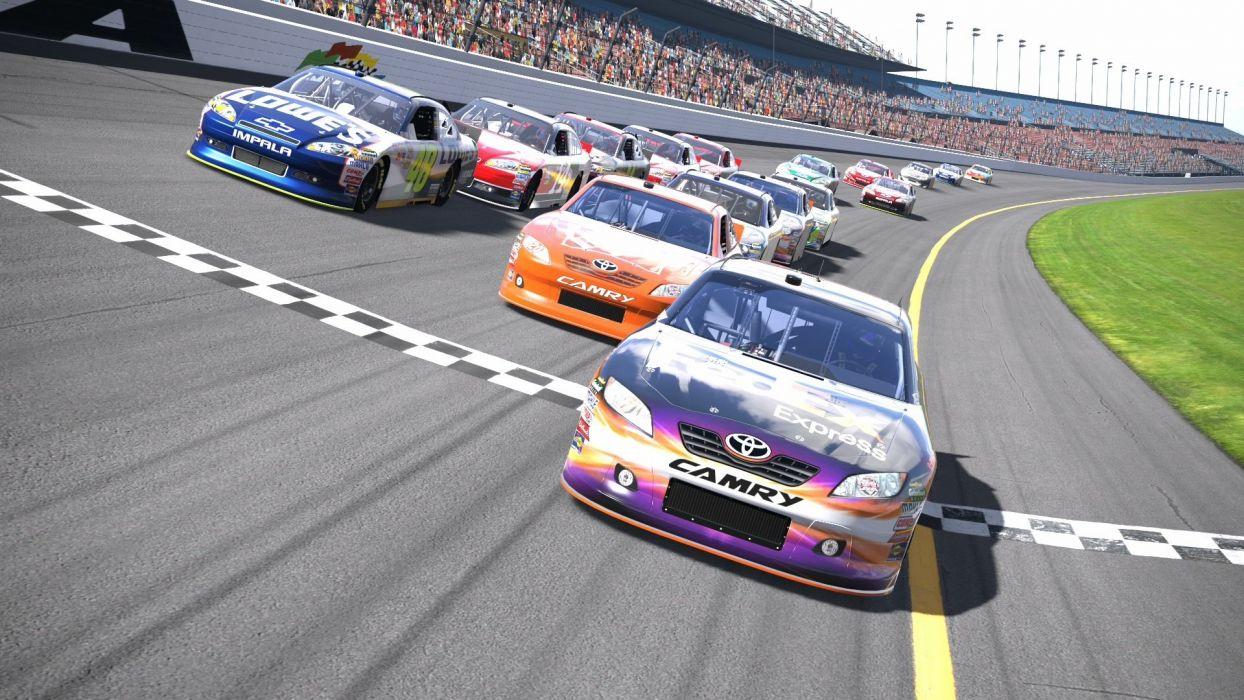 NASCAR race racing (43) wallpaper