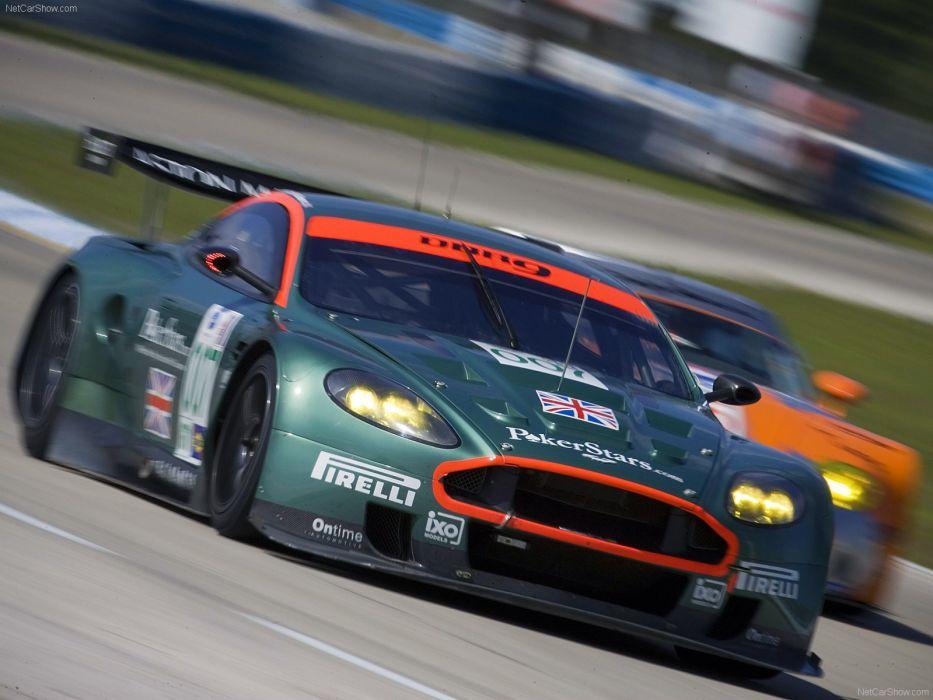 ASTON MARTIN DBR9 race racing gt1 le-mans (13) wallpaper