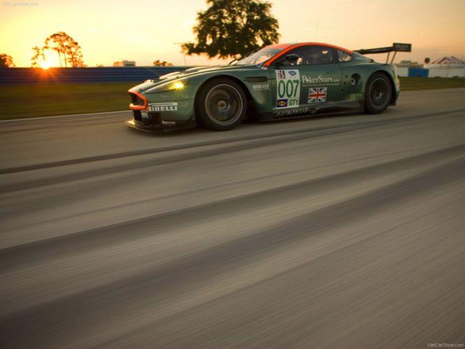 ASTON MARTIN DBR9 race racing gt1 le-mans (26) wallpaper