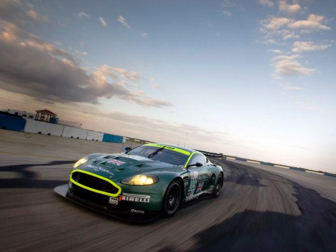 ASTON MARTIN DBR9 race racing gt1 le-mans (31) wallpaper