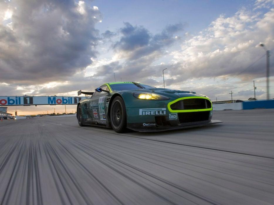 ASTON MARTIN DBR9 race racing gt1 le-mans (42) wallpaper