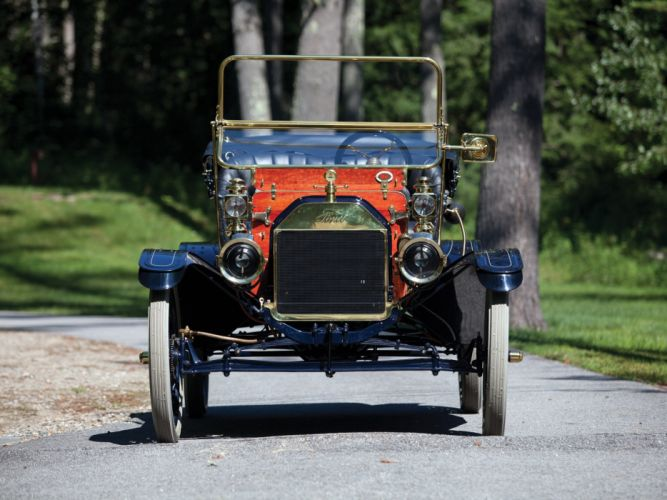 1911 Ford Model-T Open Runabout retro d wallpaper