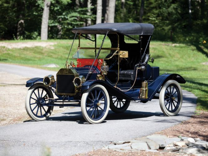 1911 Ford Model-T Open Runabout retro h wallpaper