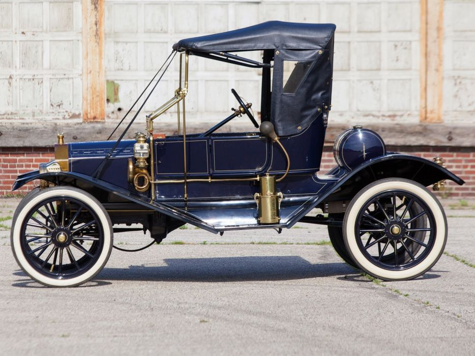 1911 Ford Model-T Torpedo Runabout  f wallpaper