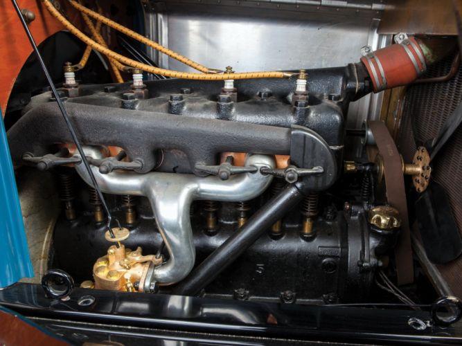 1911 Ford Model-T Touring retro engine n wallpaper