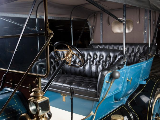1911 Ford Model-T Touring retro interior g wallpaper