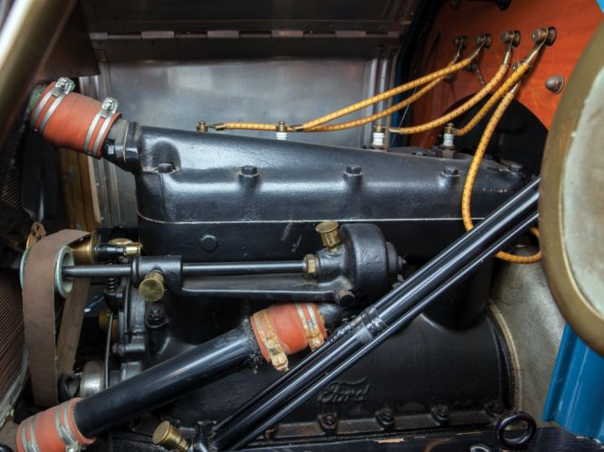 1911 Ford Model-T Touring retro engine h wallpaper