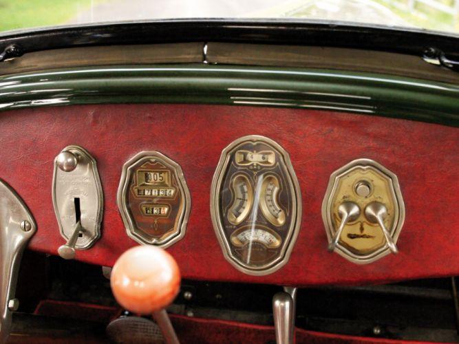 1927 Buick Master Six Deluxe Sport Roadster (27-54) retro interior g wallpaper