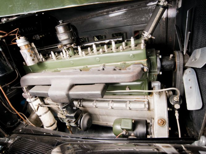 1930 Packard Deluxe Eight All-Weather Town Car LeBaron (745) luxury retro engine f wallpaper