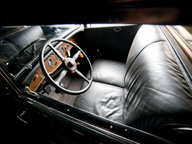 1930 Packard Deluxe Eight All-Weather Town Car LeBaron (745) luxury retro interior f wallpaper