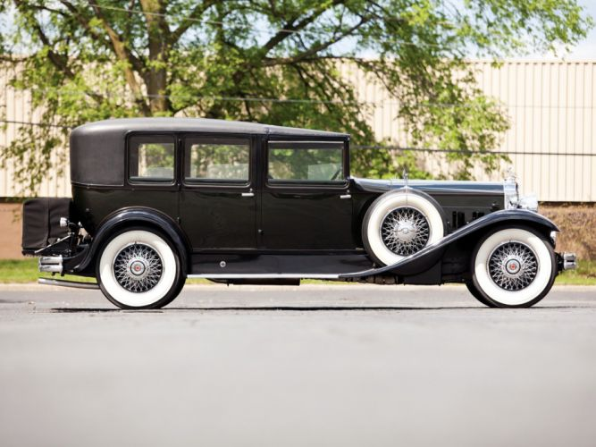 1930 Packard Deluxe Eight All-Weather Town Car LeBaron (745) luxury retro e wallpaper