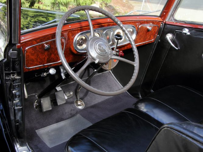 1936 Packard Eight Coupe Roadster (1402-919) convertible luxury retro interior g wallpaper