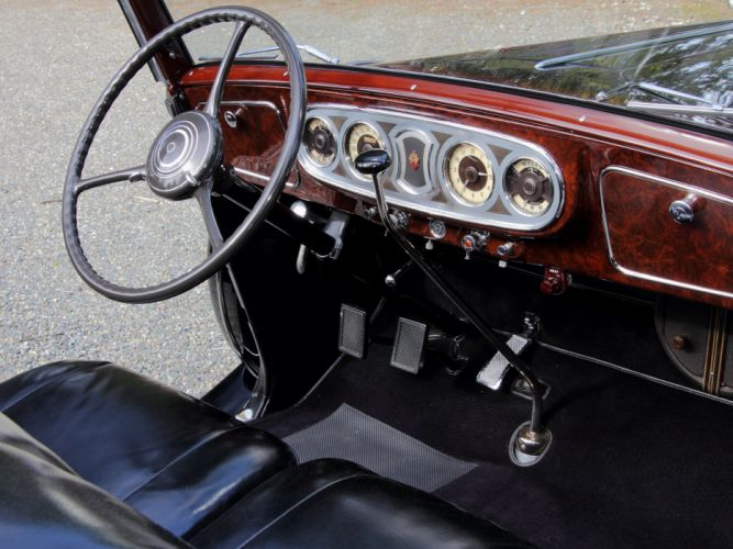 1936 Packard Eight Coupe Roadster (1402-919) convertible luxury retro interior f wallpaper