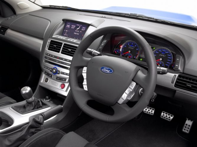 2008 FPV Super Pursuit (F-G) ford pickup muscle interior g wallpaper