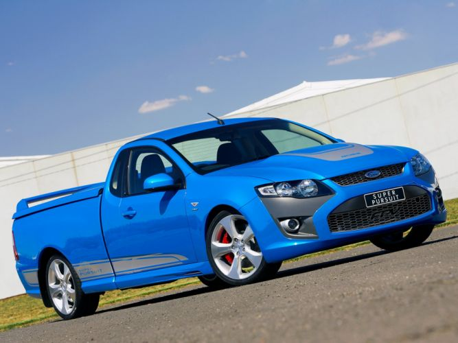 2008 FPV Super Pursuit (F-G) ford pickup muscle r wallpaper