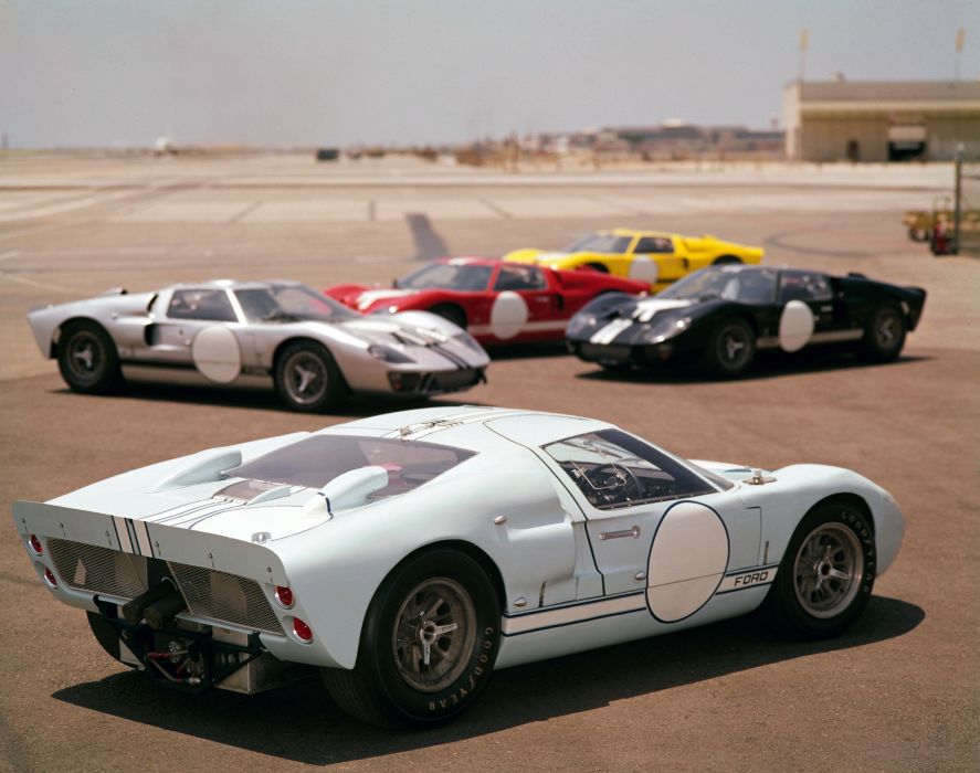 Ford GT40 (MkIII) supercar classic race racing  b wallpaper